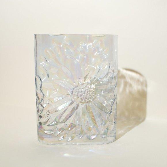 Sunflower Iridescent Vase